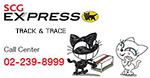 ตรวจสอบสถานะสินค้า SCG Express แมวดำ เลขแทรกกิ้ง